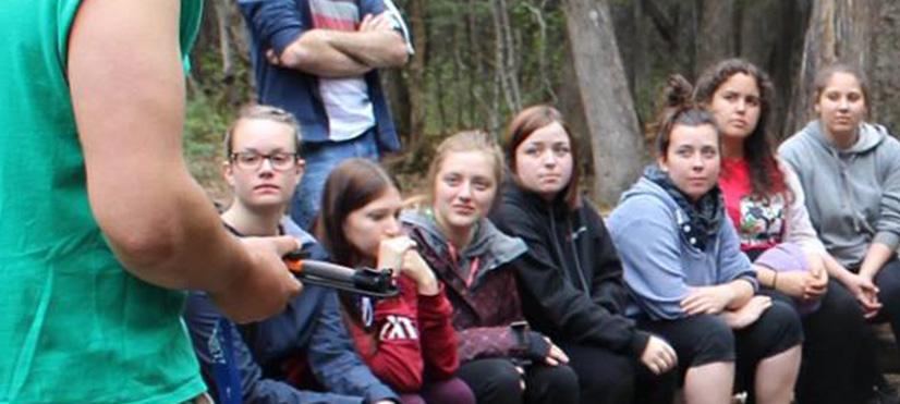 Accueil de groupes - Camp Boute-en-train - Centre de vacances et de plein air quatre saisons