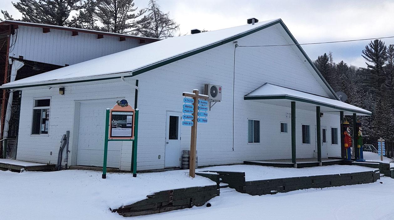 Le Caribou - Salle multifonctionnelle du Camp Boute-en-Train